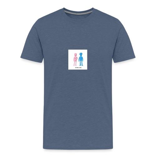 Girl Meets Boy - Teenage Premium T-Shirt