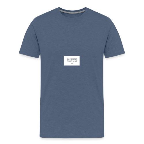 Freundschaft - Teenager Premium T-Shirt