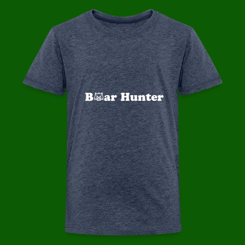Boar Hunter - Premium-T-shirt tonåring