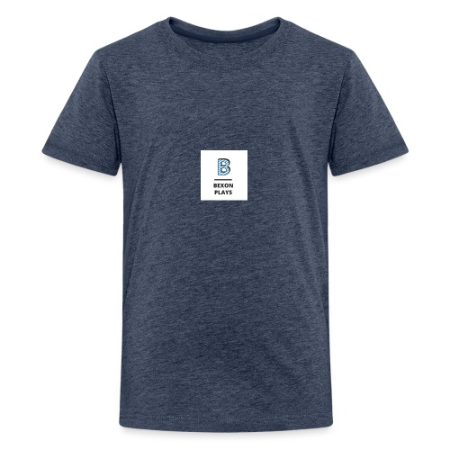 Bexon plays logo - Teenage Premium T-Shirt