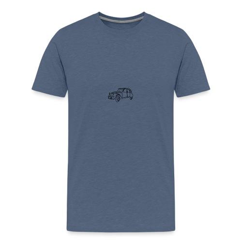 2 cv contour noir - T-shirt Premium Ado