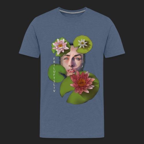 Friluftsliv L'art de se connecter avec la nature - T-shirt Premium Ado
