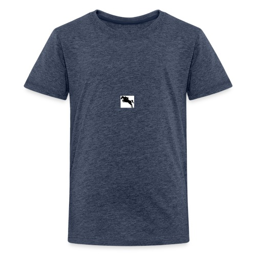 Coolballow Jumping 1 - Teenage Premium T-Shirt