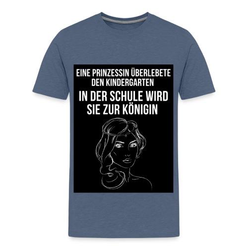 Kindergarten Einschulung - Teenager Premium T-Shirt
