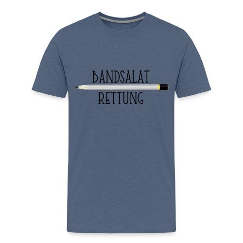 Bleistift Bandsalat Rettung 1 - Teenager Premium T-Shirt