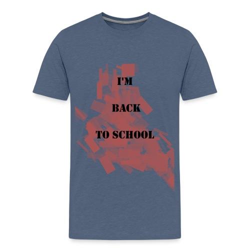 Back To School - T-shirt Premium Ado