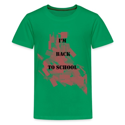 Back To School - T-shirt Premium Ado