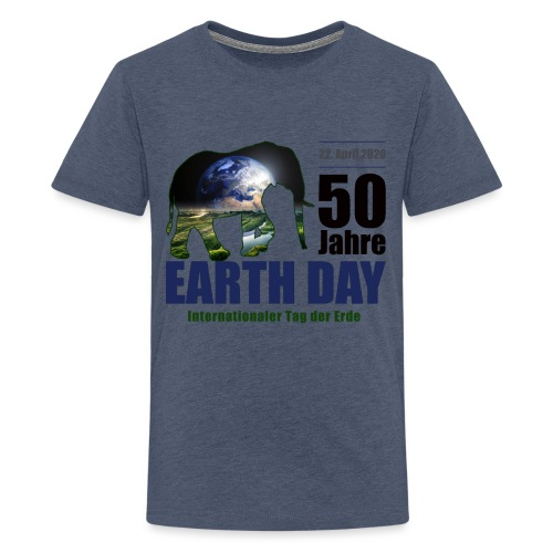 50 Jahre EARTH DAY - Teenager Premium T-Shirt