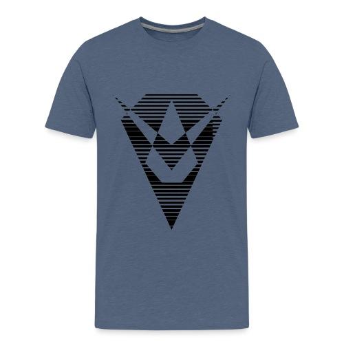 Noir losange - T-shirt Premium Ado