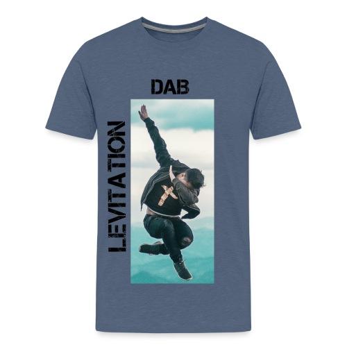 DAB levitation motif noirs - T-shirt Premium Ado