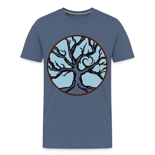 Lebensbaum Keltischer Baum mit Herz - Teenager Premium T-Shirt