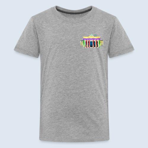Neu! Brandenburger Tor/BerlinLightShow Collection - Teenager Premium T-Shirt