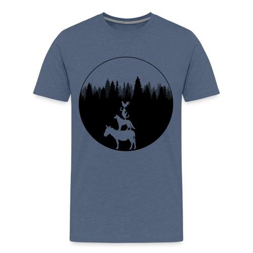 Bremen - Stadtmusikanten - Teenager Premium T-Shirt