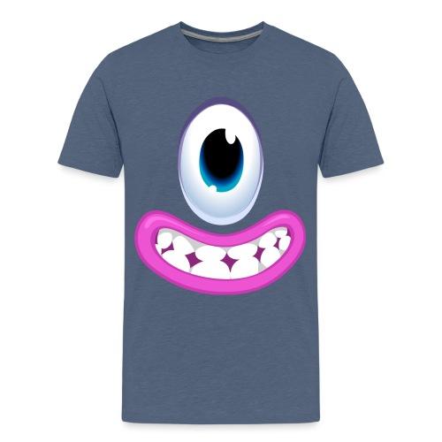 Robot Smile -Tink - Teenage Premium T-Shirt
