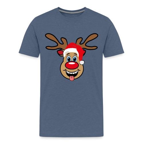 Team Rudolph Rudi Reindeer - Teenager Premium T-Shirt