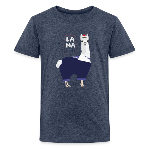 Lama rine - T-shirt Premium Ado