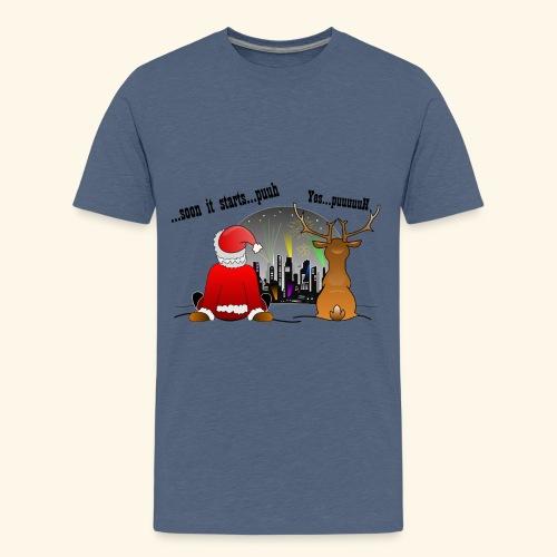 soon it starts - Teenager Premium T-Shirt
