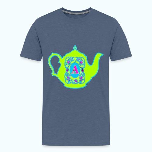 Wonders & Madness Tea Party - Teenage Premium T-Shirt