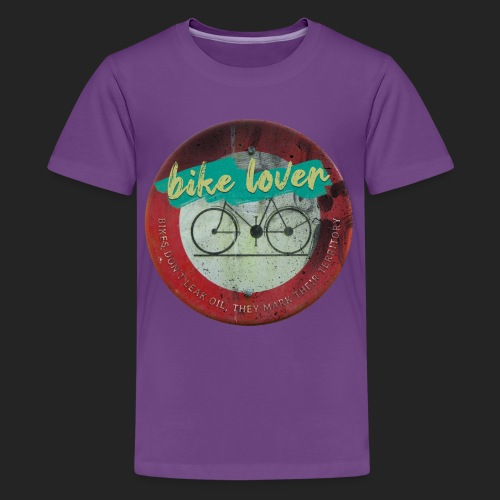 Bike lover - T-shirt Premium Ado