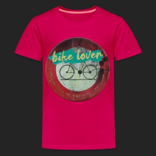 Bike lover - T-shirt Premium Ado