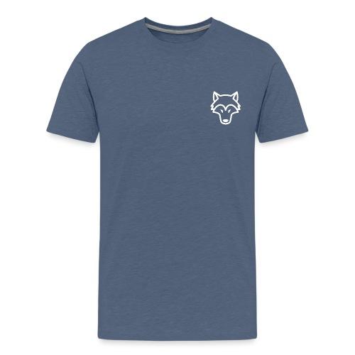WULFSTREETTEAM WIT LOGO - Teenager Premium T-shirt
