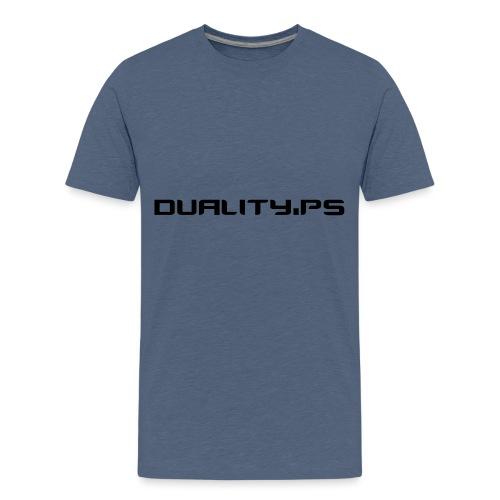 dualitypstext - Premium-T-shirt tonåring