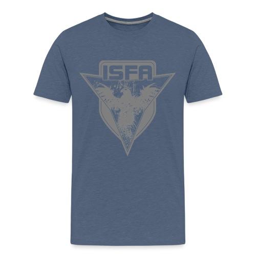 isfa logo 1c grau - Teenager Premium T-Shirt
