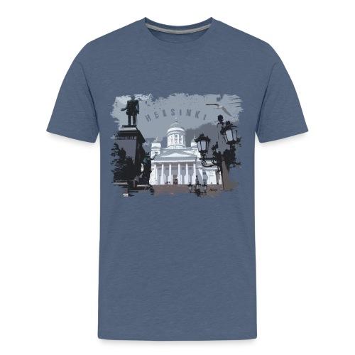 Helsinki tuomiokirkko T-paidat, hupparit, tuotteet - Teinien premium t-paita