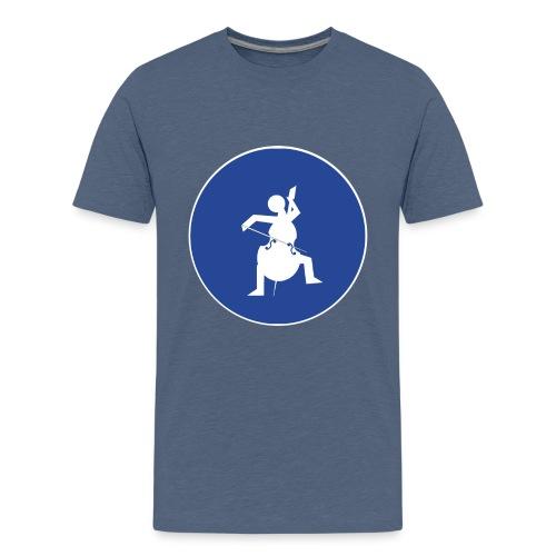 Znak playcelloobw - Koszulka młodzieżowa Premium