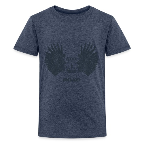 WINGS King of the road dark - Teenager Premium T-shirt
