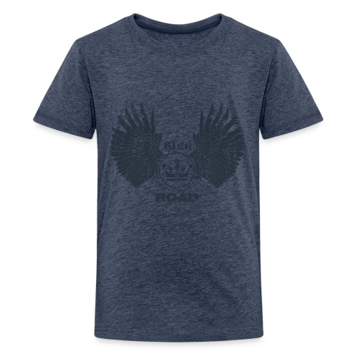 WINGS King of the road dark - Teenager Premium T-shirt