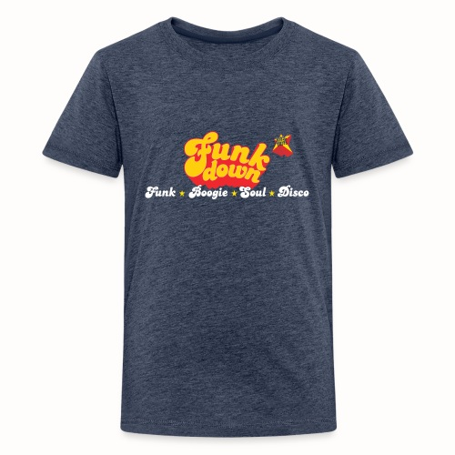 FunkDown Official Merchandise (med genrer) - Teenager premium T-shirt