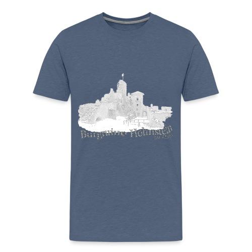 burgruine hohnstein harz 2 - Teenager Premium T-Shirt