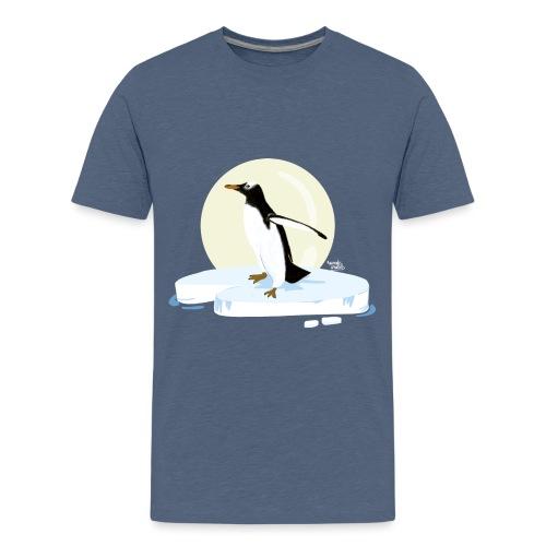 Ijzige pinguïn - T-shirt Premium Ado