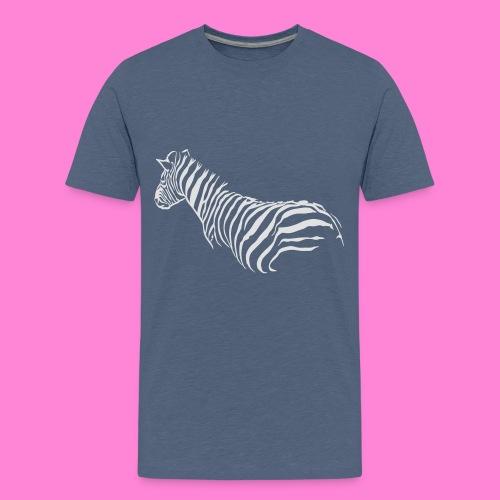zebra1 - Teenager Premium T-shirt
