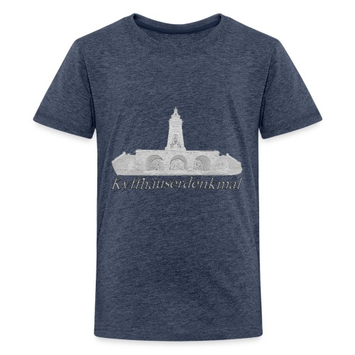 kyffhauserdenkmal 2 - Teenager Premium T-Shirt