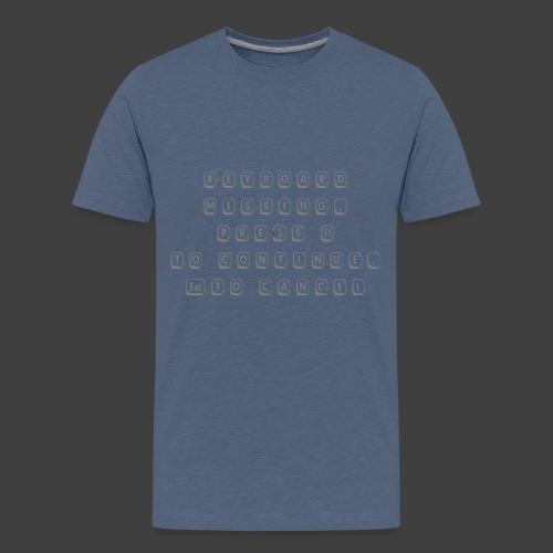 Keyboard - Teenage Premium T-Shirt