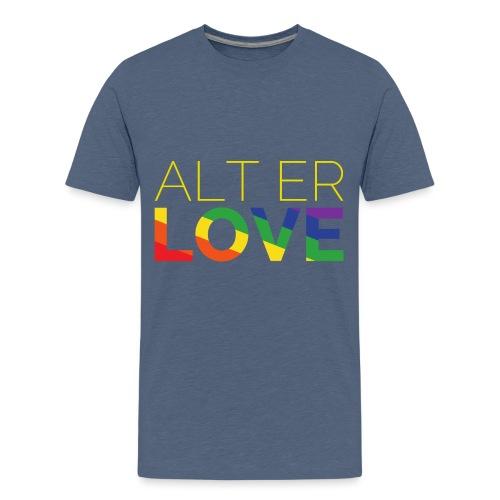 Alt er Love | SKAM | LGBT | Pride - Teenager Premium T-Shirt