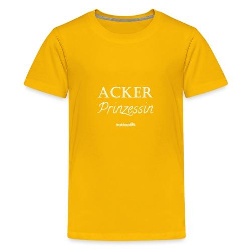 Ackerprinzessin - Teenager Premium T-Shirt