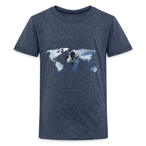 One World One Promise - Teenager Premium T-Shirt
