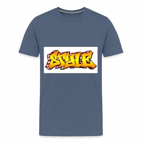 Camiseta estilo - Camiseta premium adolescente