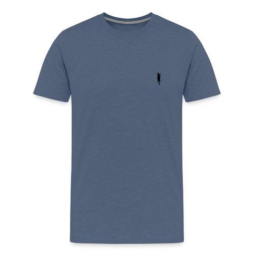 Stick Man - Teenager premium T-shirt