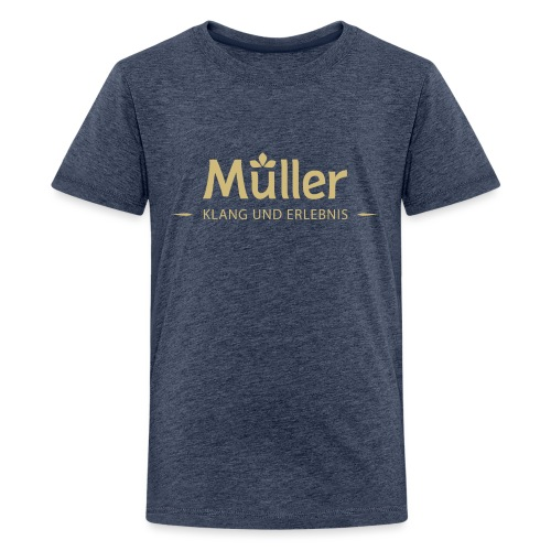 Logo Müller Gold - Teenager Premium T-Shirt