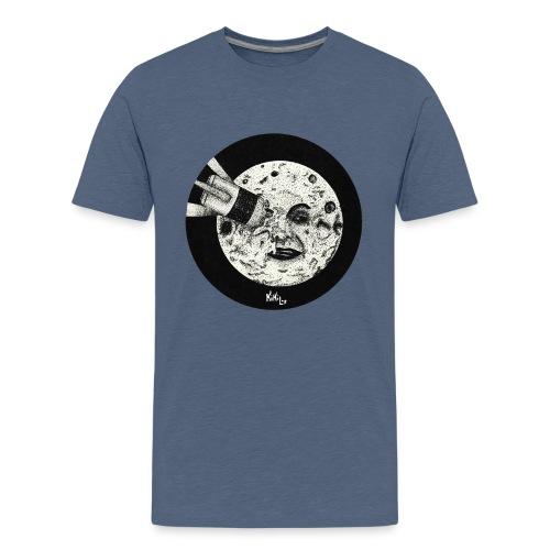 Viaje a la luna (Tributo a George Méliès) - Camiseta premium adolescente