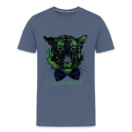 Tigerkopf_Look at me - Teenager Premium T-Shirt