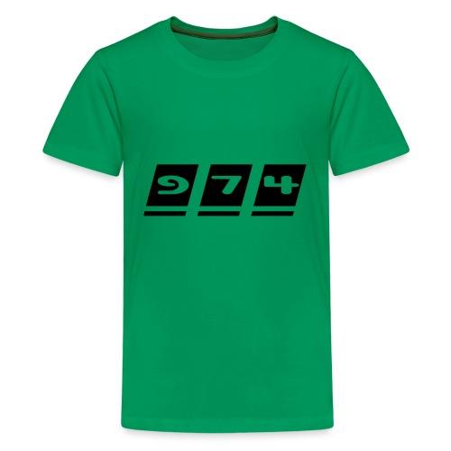 Ecriture 974 - T-shirt Premium Ado