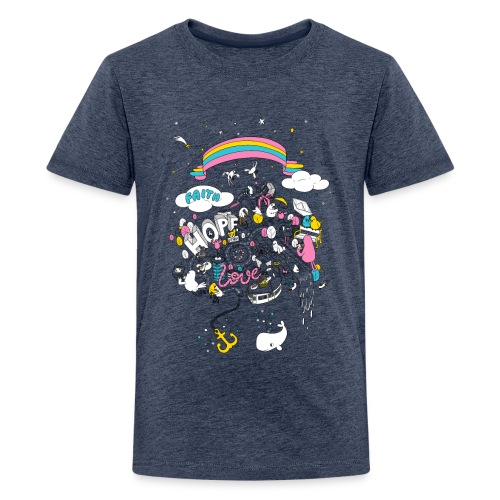 FHL Wimmelshirt VAR1 3000 - Teenager Premium T-Shirt