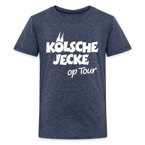 Kölsche Jecke Kölner Dom op Tour Köln Design - Teenager Premium T-Shirt