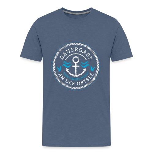 Ich bin Dauergast an der Ostsee - Teenager Premium T-Shirt