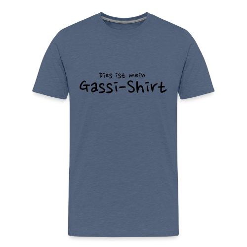 Gassi-Shirt - Hundefreunde Geschenkidee - Teenager Premium T-Shirt